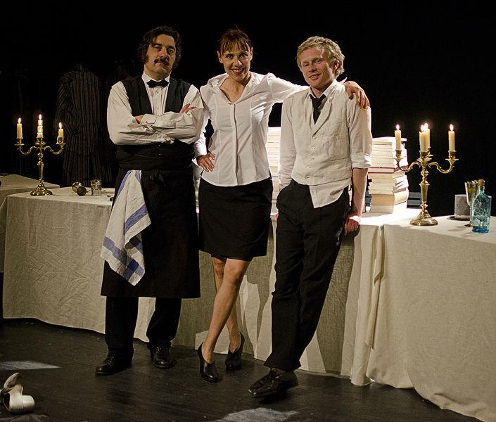 Au Banquet de Marianne/Dominique Touzé, Danielle Rochard et Emmanuel Chanal