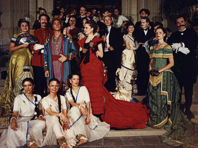 Le bal du Maharaja