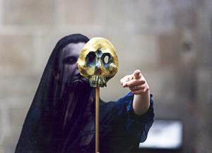 Les Pascalines:Voile noir+masque