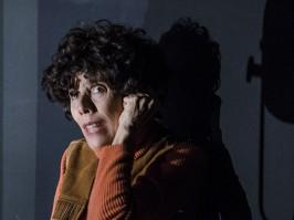 Mauricette ou l'Amour du Théâtre Municipal/Danielle Rochard est Mauricette au téléphone