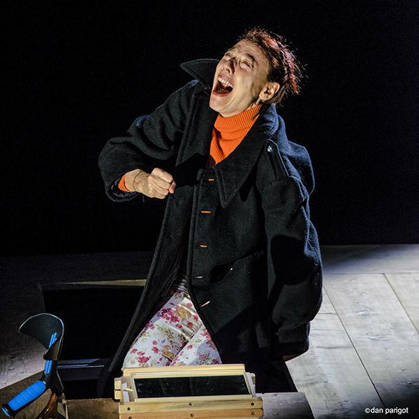 Mauricette ou l'Amour du Théâtre Municipal/Danielle Rochard fait la tragédienne
