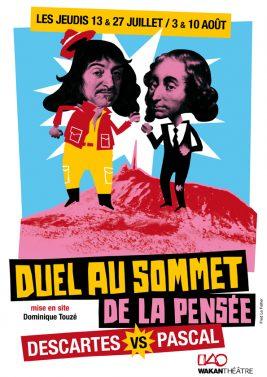 Duel au Sommet ( de la pensée) – Descartes VS Pascal